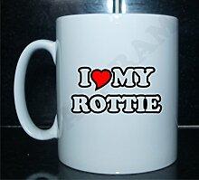 I love my Rottie Neuheit Bedruckte Tee/Kaffee
