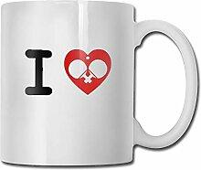 I Love Ping Pong 3 F2 Motivational Mug