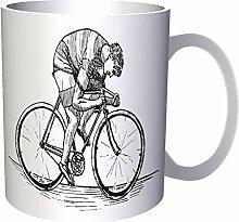 I Love Riding My Bike 33 cl Tasse ff255