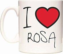 I Love ROSA Becher von WeDoMugs