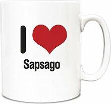 I love Sapsago Becher 2640