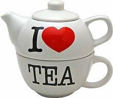 I love TEE–Teekanne & Tasse Se