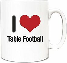 I love Tisch Fußball Becher 1115