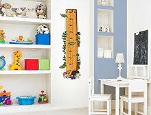 I-love-Wandtattoo M-13-003 Kinderzimmer Messlatte Wald zum kleben, beschriften und selbst gestalten Sticker Aufkleber Wandtattoo Wandaufkleber Wanddeko