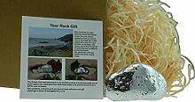 I love you, You are my Rock Geschenkidee–massivem Metall schwere poliert Rock Geschenk für–Valentines