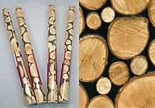 i.stHOME Klebefolie 4er Set - Möbelfolie Holz -