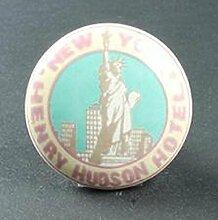 i.stHOME Möbelknopf New York - Möbelgriff NY - Porzellan Knauf Freiheitsstatue