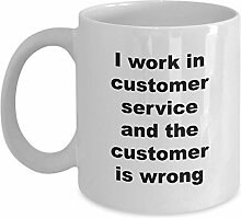 I Work In Customer Service And The Customer Is