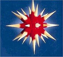 I6, roter Kern / gelbe Spitzen, Weihnachtsstern