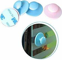 IABLE 10 Creative Home, Gadget, Mini Paste Typ Schrank Griff Glas Tür Pull Knopf, zufällige Farbe