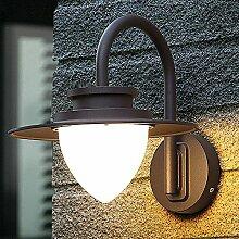 IACON 8W LED Außenleuchte Wandlampe Retro Vintage