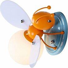 IACON Kinder Wandleuchter E27 Bienen kreative