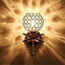 IACON LED 5W Kristall Wandleuchte Silber Wandlampe