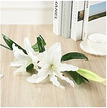 IAGONGC Künstliche Blumen Künstliche Seide