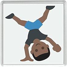 IamEngland Person wagenrad Ton 5 Emoji 58 mm x 58