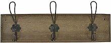 Ib Laursen - Hakenleise aus Holz mit 3 Metallhaken