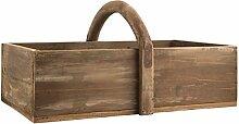 Ib Laursen - Holzkorb Holzkiste mit Henkel