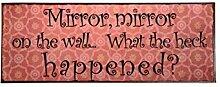 IB Laursen Metalskilt Mirror Mirror [NPR]