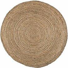 IB Laursen Teppich rund braun