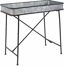 IB Laursen - Tisch mit hoher Kante aus Metall, B