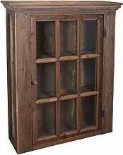 Ib Laursen - Wandschrank mit Glastür aus Holz,