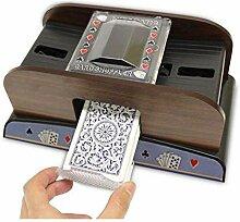 iBaste Kartenmischmaschine Elektrisch Automatisch,