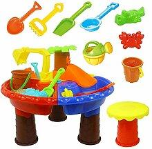 iBàste Kinder Sand und Wassertisch Spielset