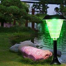 iBaste Solarleuchte Gartenleuchte 12 LED