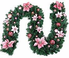 iBaste Weihnachtsgirlande, Girlande Dekoration,