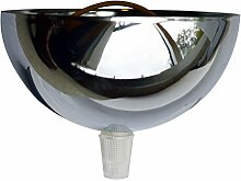 ibelec 722730Pavillon Metall Chrom Silber