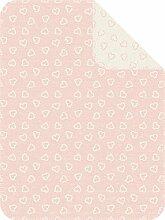 Ibena Babydecke rosa Größe 75x100 cm
