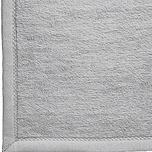 Ibena Kniedecke silber Größe 100x150 cm