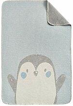 Ibena s.Oliver Pinguin Kinderdecke 070x100 cm -