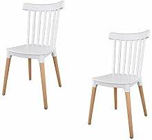 IBH DESIGN 2 Stühle Masena – Skandinavischer