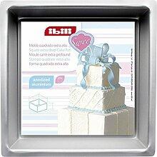 Ibili 815220 Quadratische Backform, extratief,