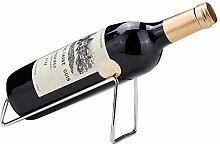 Ibnotuiy Weinregal für eine Flasche, Metall,