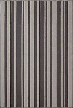 IBSTED IKEA Kurzflor Teppich in grau; (120x180cm)