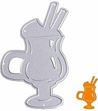 Ice Cream Cup Formen Schablonen DIY Scrapbooking