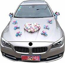 Icegrey Auto Schmuck Künstliche Blume Dekoration