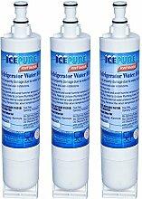 IcePure RFC0500A-3pk Wasserfilter zu Ersatz Whirlpool, KitchenAid, Sears, Thermador (3er Pack)