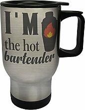 Ich bin der heiße Barkeeper Edelstahl Thermischer