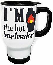 Ich bin der heiße Barkeeper Weiß Thermischer