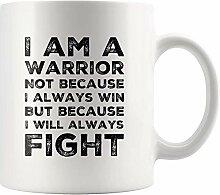 Ich bin ein Krieger Ich werde immer kämpfen