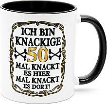Ich bin knackige 50 Jahre Tasse Becher