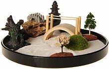 icnbuys Zen Garten Set Zubehör und Werkzeuge verschiedenen Auswahlmöglichkeiten DIY Eigenen Garten