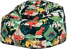 icon Kinder Sitzsack Stuhl, Dinosaurier Sitzsäcke