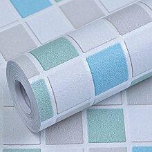 Icqgc Tapete Peel und mutter tapete Tapete Wasserdicht Selbstklebend Abnehmbar Home-design-tapete-B