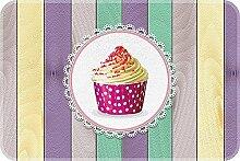 ID MAT 4060Küchenteppich mit Muffin-Motiv,