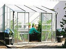 Ida 7800 Alu-Anlehngewächshaus HKP 6 mm