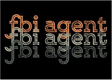 Idakoos Fbi Agent repeat retro - Berufe -